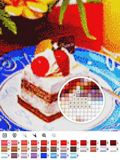 Color by Letter : Cross Stitch Joy 1.0.2 screenshots 21