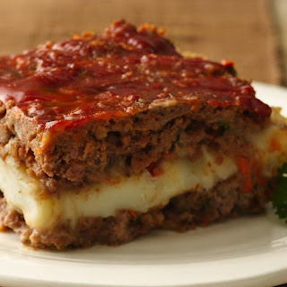 Meat Loaf Squares Recipe (Gluten Free)