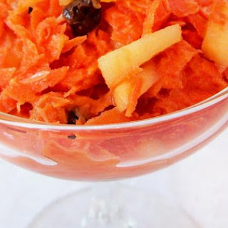 Carrot Raisin Pineapple Salad