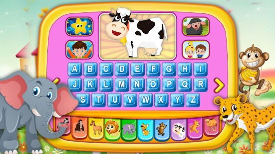 Alphabet Tablet - Piano,Animals,Toy Educational - náhled