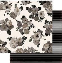 Heidi Swapp Magnolia Jane Double-Sided Cardstock 12X12 - Secret Garden UTGÅENDE