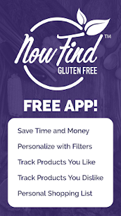 Now Find Gluten Free- screenshot thumbnail