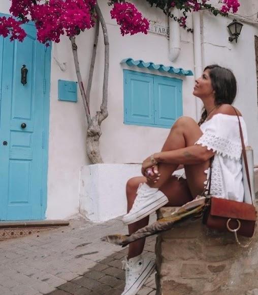 Natalia Cabezas (@trendy_taste, 577.000 seguidores), en Mojácar.