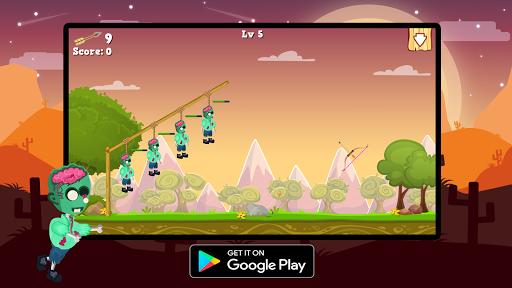 Télécharger Gratuit Save Zombie : Bow Master apk mod screenshots 4