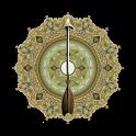 Kiblat kompas icon