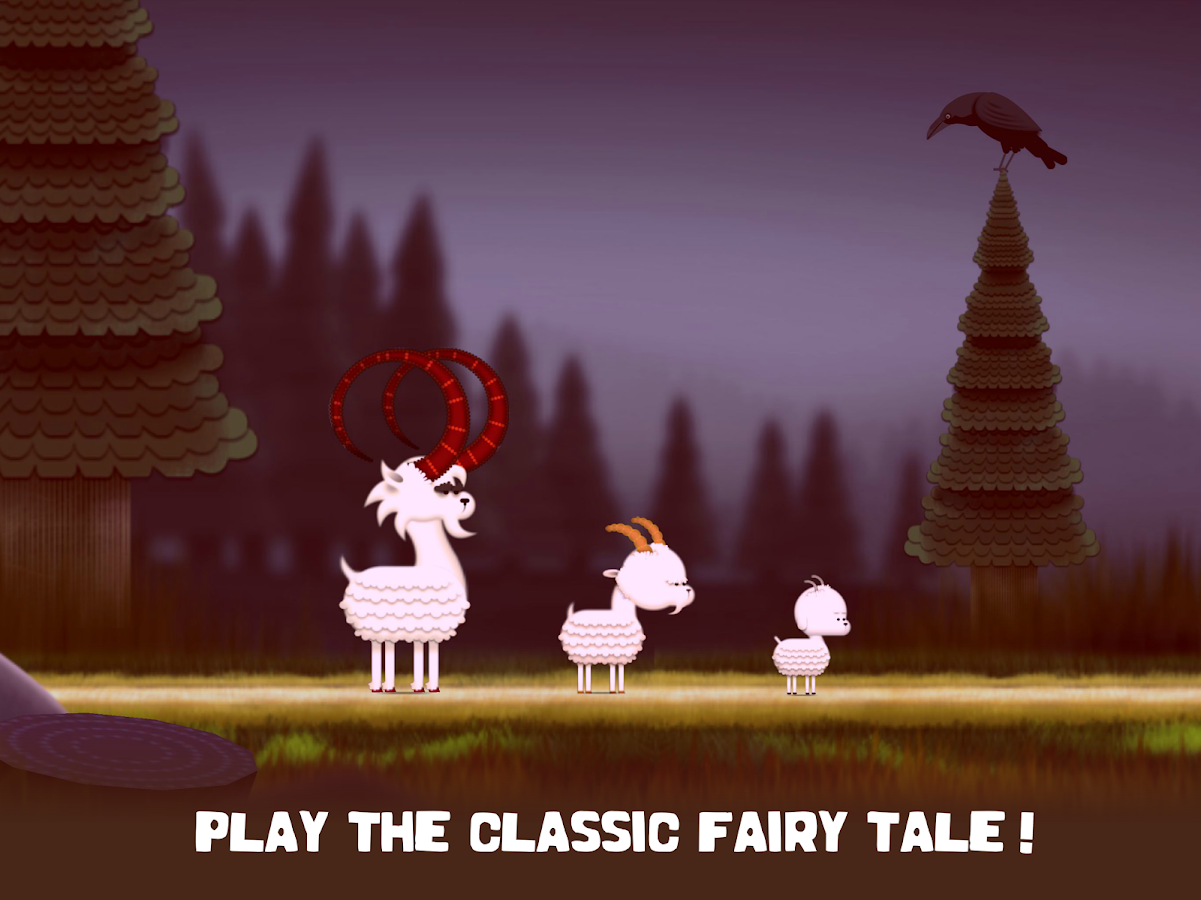 The three Billy Goats Gruff- screenshot