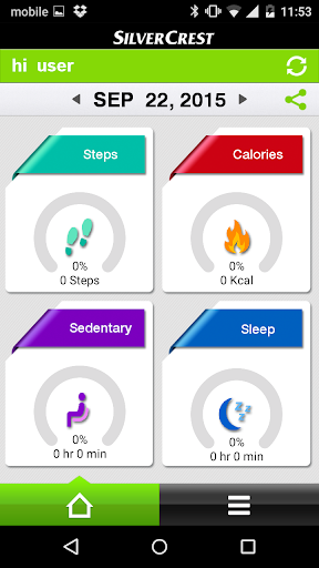 SilverCrest Fitness Tracker