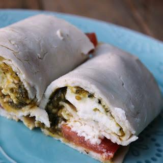 "Turkey Caprese ""No Bread"" Roll-Up Recipe"