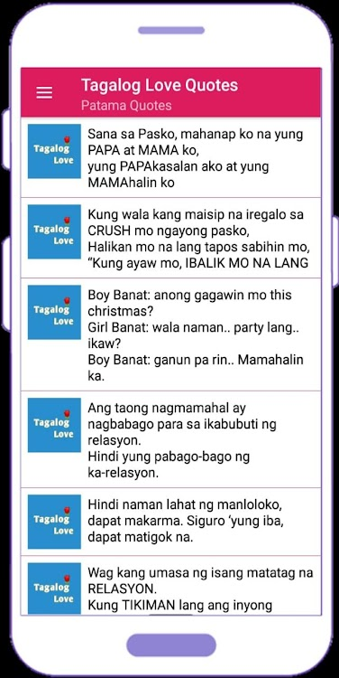 Tagalog Love Quotes In Filipino – Android Aplikace — AppAgg