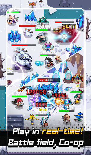 Grow Stone Online : 2d pixel RPG, MMORPG game - screenshot