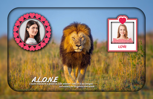 Lion Photo Editor ss1