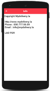 Mydelivery - Food Delivery screenshot 14
