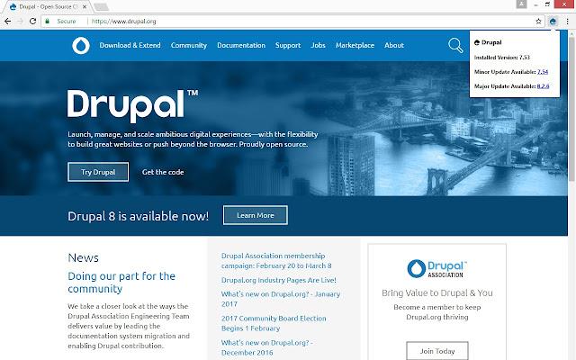 Drupal: Validate & Check Version