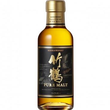 NIKKA WHISKY - TAKETSURU PURE MALT 日本竹鶴純麥威士忌 - 180ml (酒精濃度 43%)