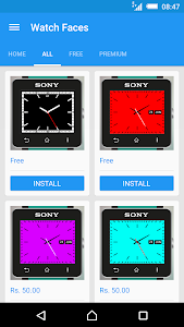 Watch Faces for SmartWatch 2 screenshot 0