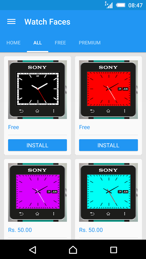 Watch Faces for SmartWatch 2- screenshot