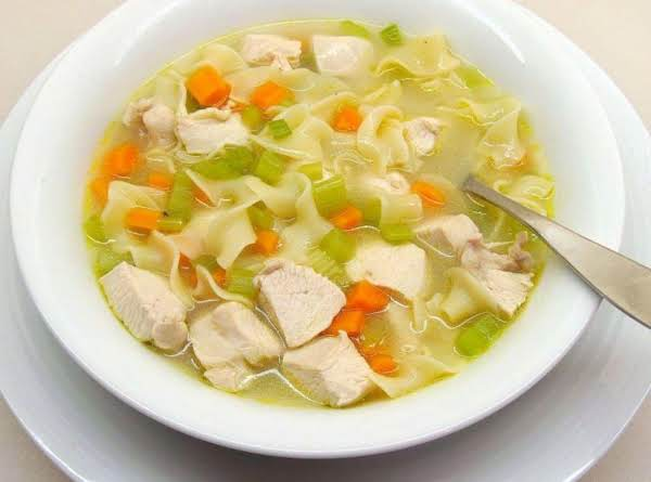 My Favorite Chicken Noodle Soup