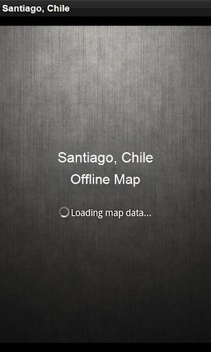 離線地圖 智利聖地亞哥