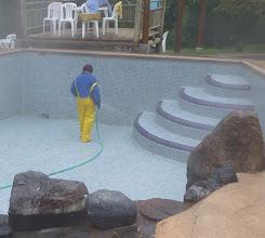 Photo: Pools at Termas Papallacta showed regular maintenance