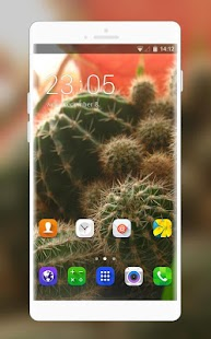 Theme for Intex Spark Cactus Wallpaper - náhled