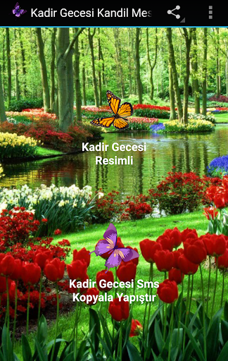 Kadir Gecesi Kandil Mesajları app (apk) free download for Android/PC/Windows screenshot