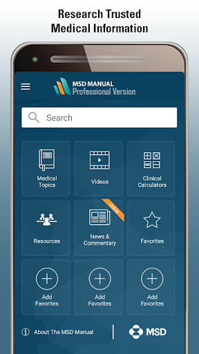 msd manual professional screenshot 1