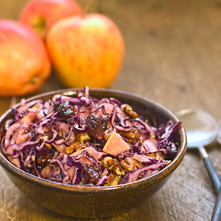Red Cabbage Cranberry Walnut Salad Recipes