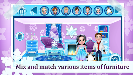 Ice Princess Doll House Games- screenshot thumbnail