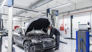 Audi tiene en Almería los talleres más avanzados de la red de concesionarios