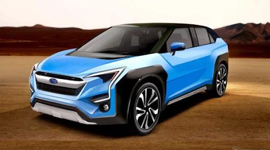 Grupo Playcar deseando mostrar el eléctrico de Subaru
