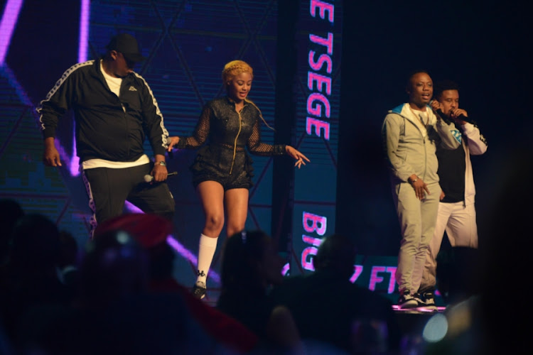 Babes Wodumo, Big Nuz (which consists of Mampintsha & Danger) and Dj Tira used to spend a lot of time together.