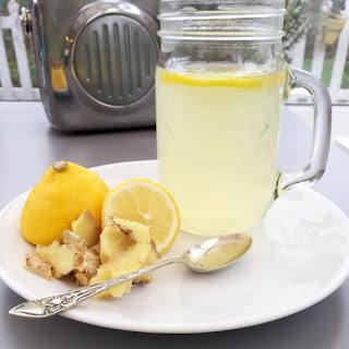 Soothing Honey And Lemon Drink.