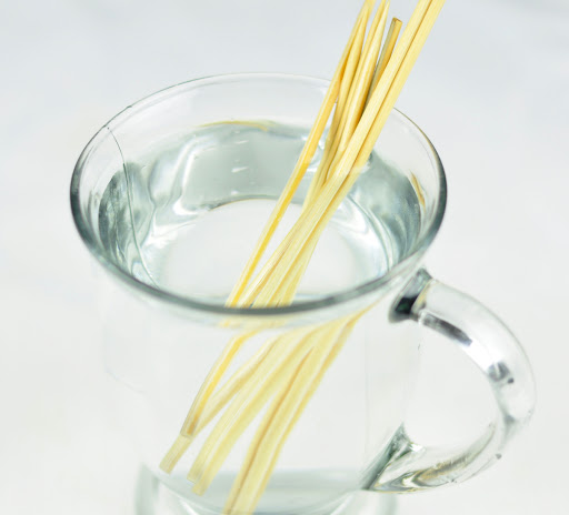 soak bamboo skewers in water
