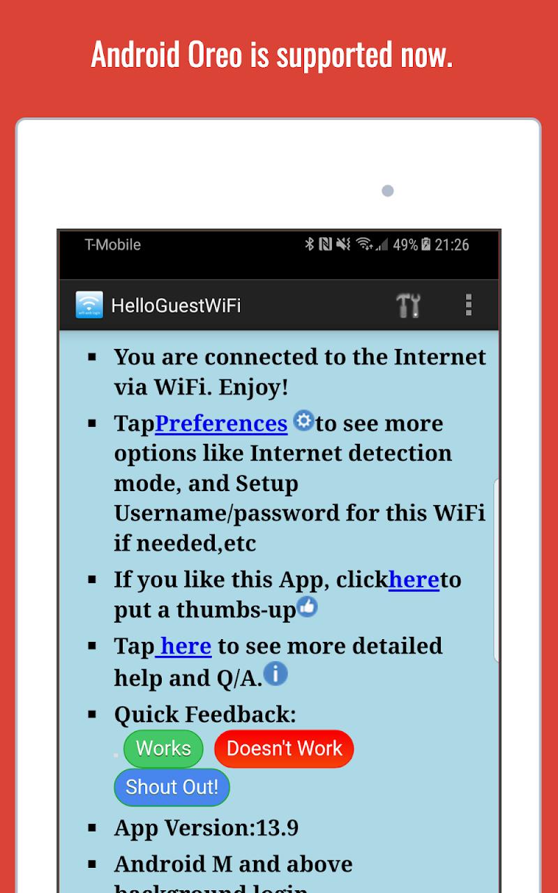 WiFi Web Login Screenshot 9