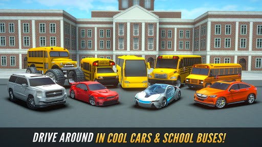 Super High School Bus Driving Simulator 3D - 2020 2.5 screenshots 4