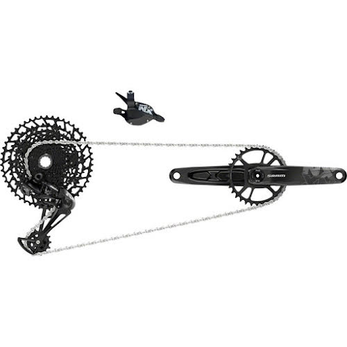 SRAM NX Eagle Groupset: 175mm 32 Tooth DUB Crank, Rear Derailleur, 11-50 12-Speed Cassette, Trigger Shift