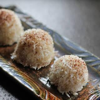 Coconut Banana Balls (Egg-Free Banana Macaroons).