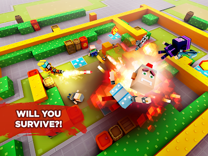 Pixel Arena Online Multiplayer Blocky Shooter 1.20.0 MOD (Unlimited Coins/Crystals) Apk 7