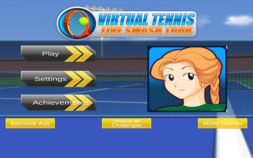 Virtual Tennis Live Smash Tour