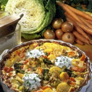 Kartoffel-Gemüse-Kuchen