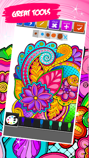 Download Mandala Coloring Book Android Apps APK