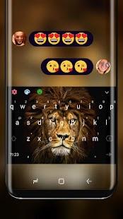 Wild Lion Keyboard  Steppe King - náhled