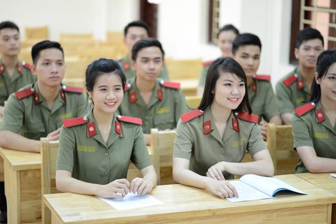 Các trường Công an nhân dân công bố điểm sàn xét tuyển vào năm 2018