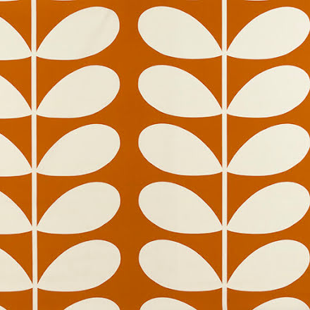 Giant Stem av Orla Kiely - orange