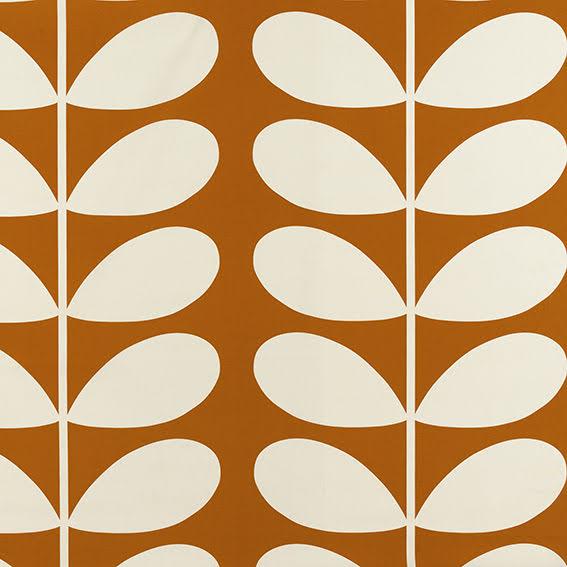 Giant Stem av Orla Kiely - orange
