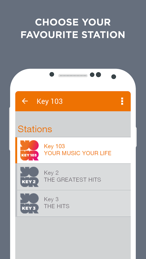 Key Radio- screenshot