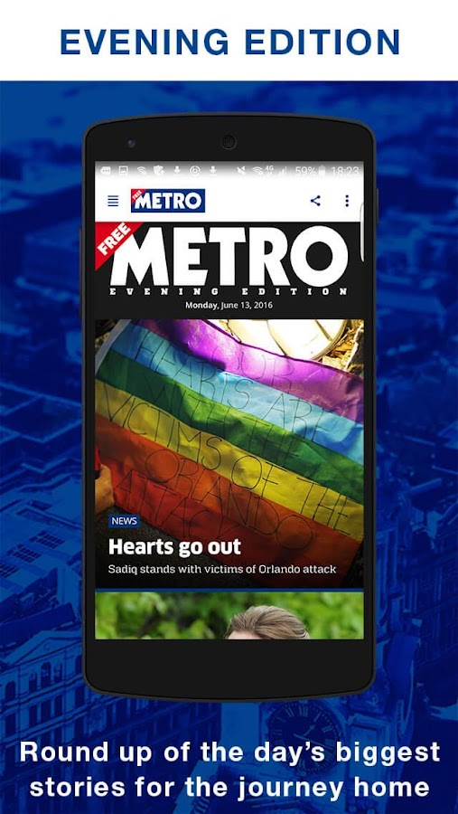 Metro- screenshot