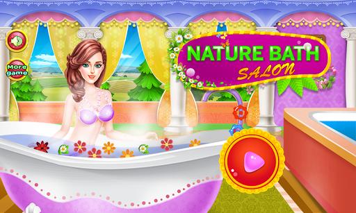 浴沙龍女孩遊戲