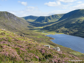Photo: Loch Callater with Tolmount beyond