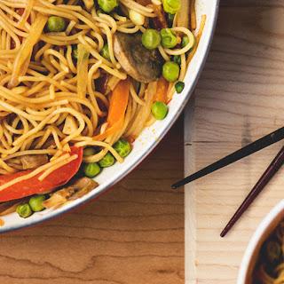 Asian Stir Fry Noodles.